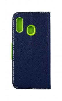 Knížkové pouzdro na Samsung A20e modré