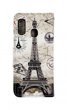 Knížkové pouzdro na Samsung A20e Paris 2