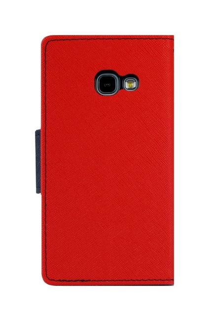 Knížkové pouzdro Mercury Fancy Diary na Samsung A3 2017 červené