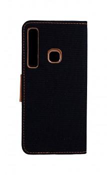 Knížkové pouzdro Canvas na Samsung A9 černé