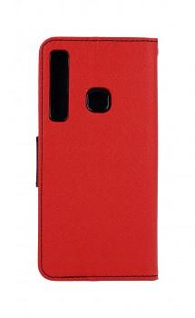 Knížkové pouzdro na Samsung A9 červené