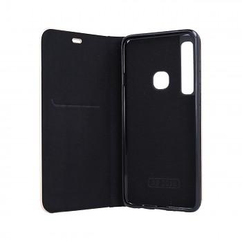 Knížkové pouzdro Luna Book na Samsung A9 černé  (2)
