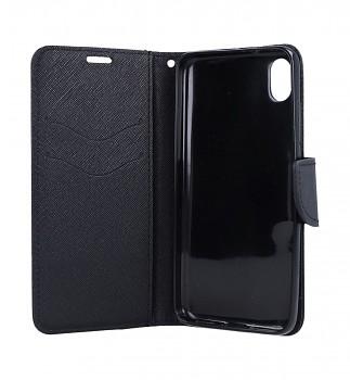 Knížkové pouzdro na Xiaomi Redmi 7A černé (2)