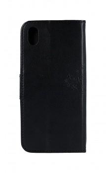 Knížkové pouzdro na Xiaomi Redmi 7A Černý strom sovičky