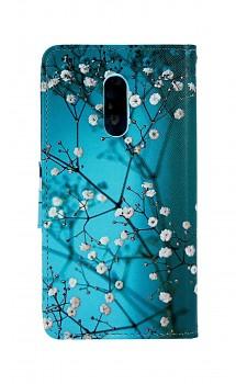 Knížkové pouzdro na Xiaomi Redmi Note 4 Global Modré s květy