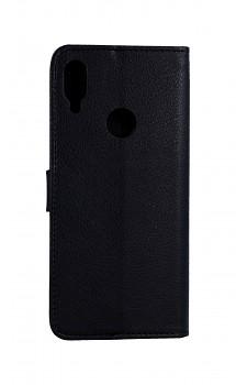 Knížkové pouzdro na Xiaomi Redmi Note 7 černé s přezkou