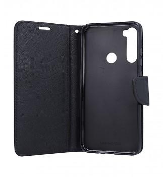 Knížkové pouzdro na Xiaomi Redmi Note 8 černé (2)