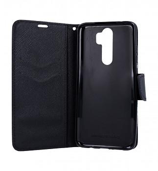 Knížkové pouzdro na Xiaomi Redmi Note 8 Pro černé (2)