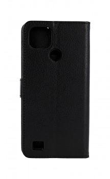 Knížkové pouzdro Realme C21 černé s přezkou
