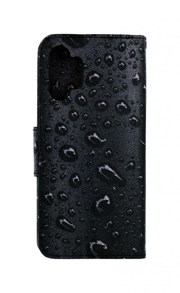 Knížkové pouzdro na Samsung A32 Kapky