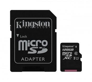 Paměťová karta Kingston 128 GB Class 10