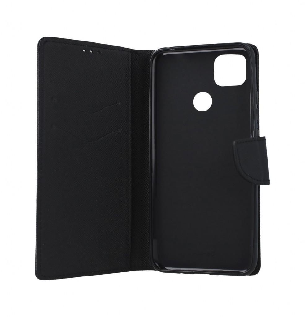 Pouzdro kryt na mobil Xiaomi Redmi 9C knížkové černé (3)