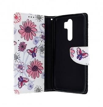Knížkové pouzdro na Xiaomi Redmi Note 8 Pro Flowers (2)