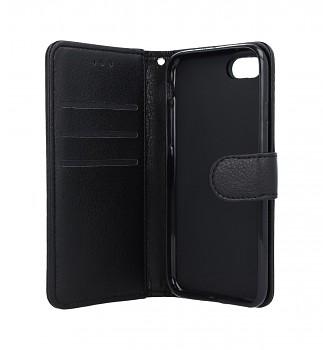 Knížkové pouzdro na iPhone SE 2020 černé s přezkou (2)