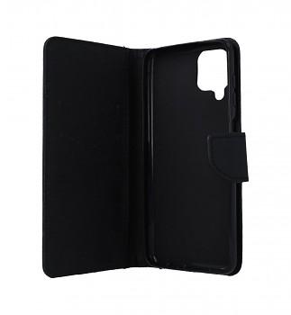 Knížkové pouzdro na Samsung A12 černé (2)