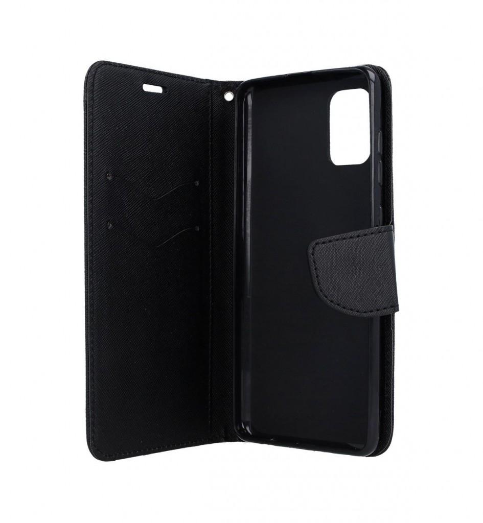 Knížkové pouzdro na Samsung A31 černé  (2)