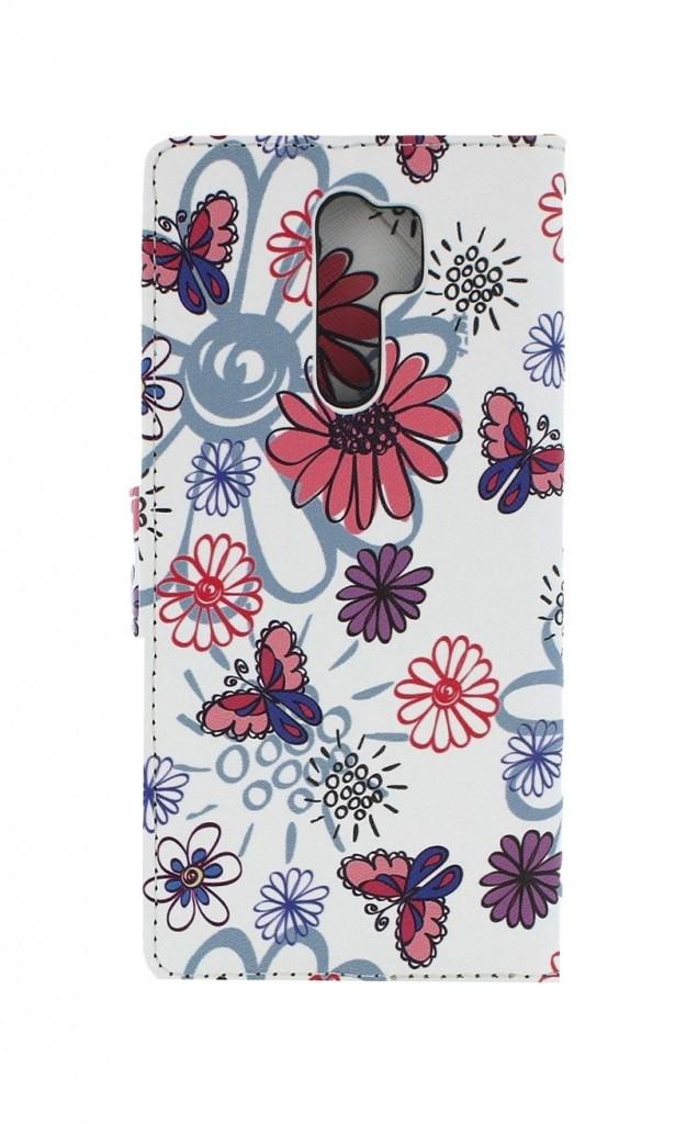 Knížkové pouzdro na Xiaomi Redmi 9 Flowers (2)