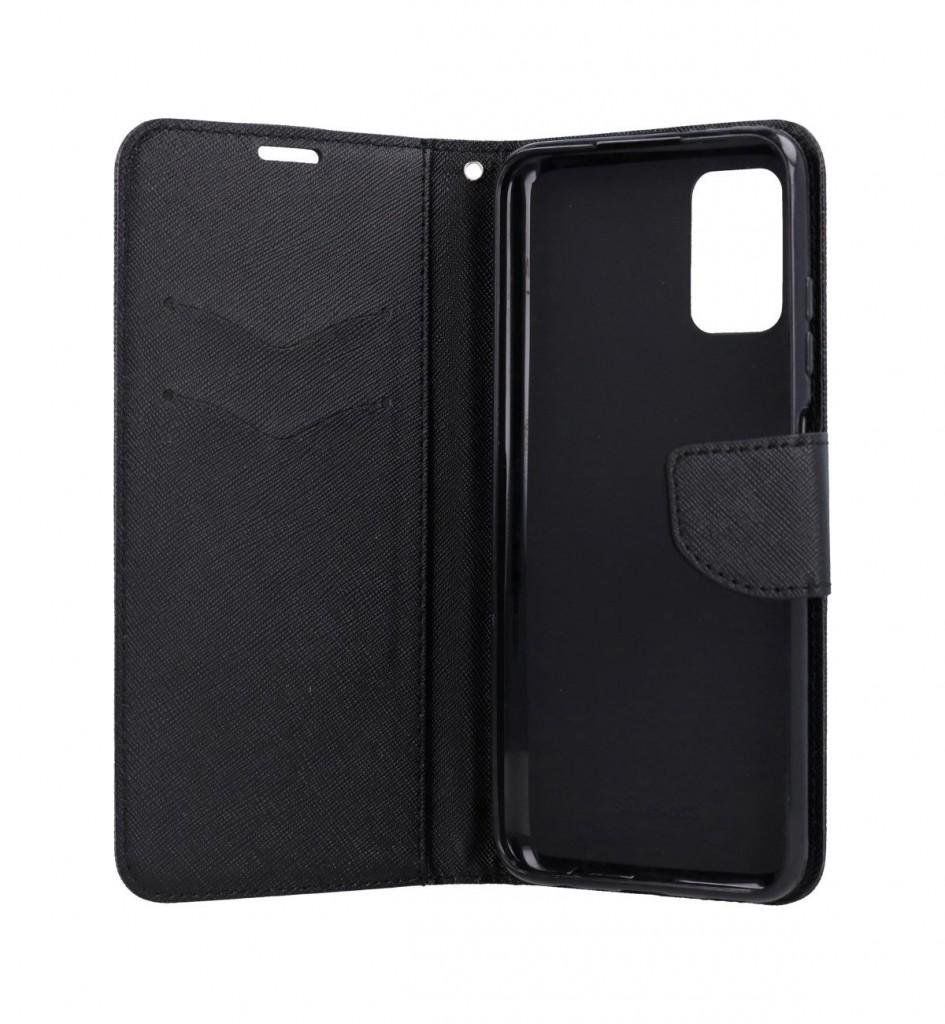 Knížkové pouzdro na Samsung A03s černé (2)