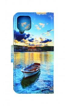 Knížkové pouzdro na Samsung A12 Loďka