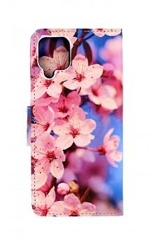 Knížkové pouzdro na Samsung A12 Sakura