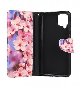 Knížkové pouzdro na Samsung A12 Sakura (2)