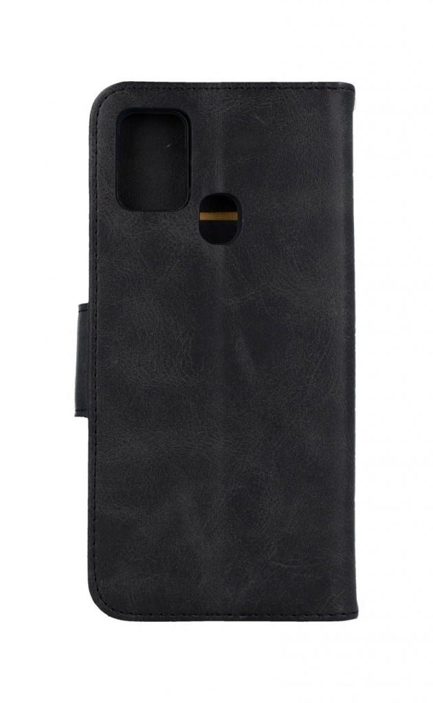 Knížkové pouzdro na Samsung A21s Classic černé
