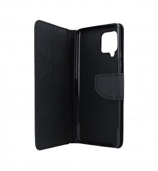 Knížkové pouzdro na Samsung A42 černé (2)