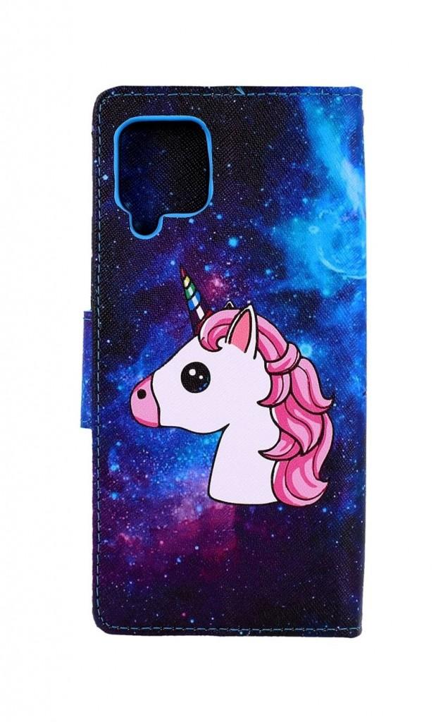 Knížkové pouzdro na Samsung A42 Space Unicorn