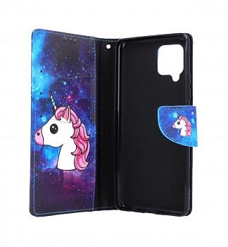 Knížkové pouzdro na Samsung A42 Space Unicorn (2)