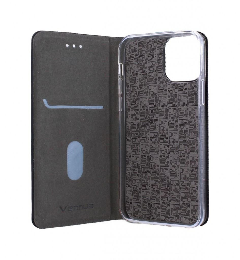 Knížkové pouzdro Sensitive Book na iPhone 12 Pro černé (2)