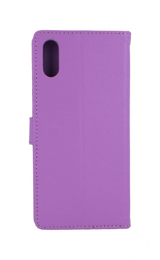 Knížkové pouzdro na Xiaomi Redmi 9A fialové s přezkou
