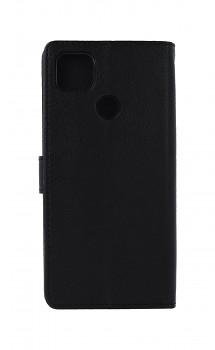 Knížkové pouzdro na Xiaomi Redmi 9C černé s přezkou _1