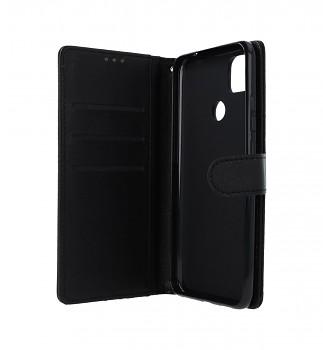 Knížkové pouzdro na Xiaomi Redmi 9C černé s přezkou _2