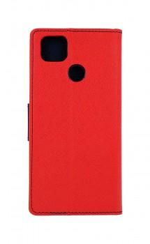 Knížkové pouzdro na Xiaomi Redmi 9C červené  (1)