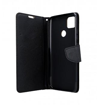 Knížkové pouzdro na Xiaomi Redmi 9C zlato-černé (2)