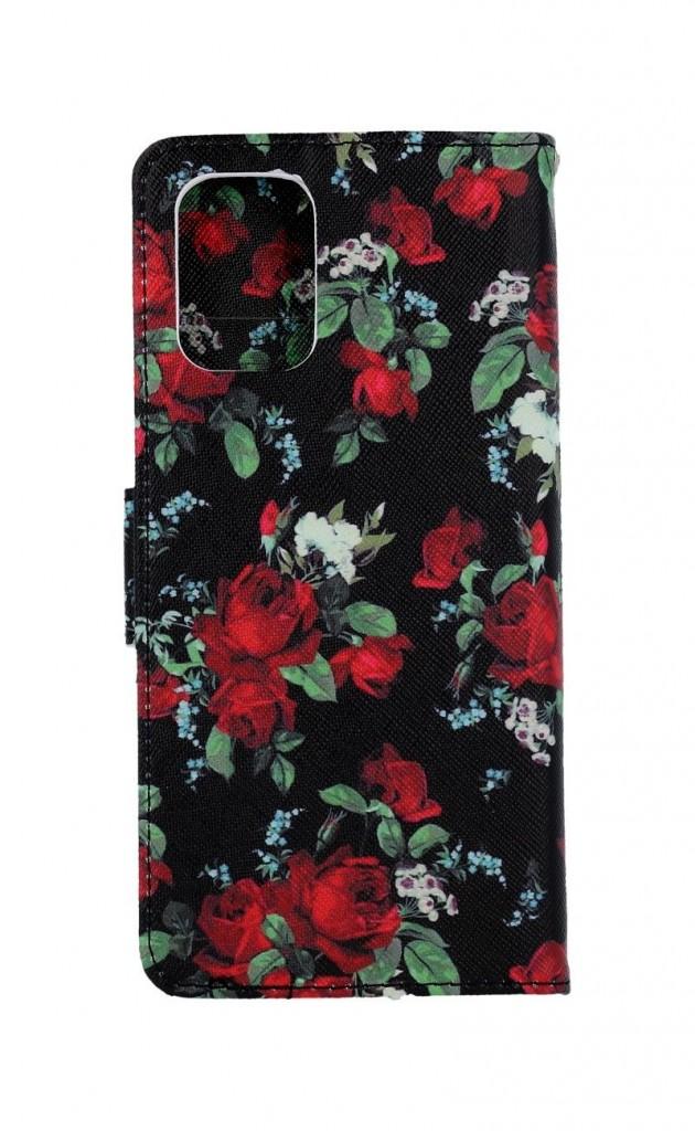 Knížkové pouzdro na Xiaomi Redmi Note 10 Květy růží