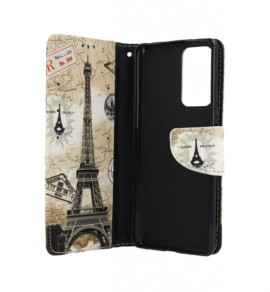 Knížkové pouzdro na Xiaomi Redmi Note 10 Pro Paris 2 (2)