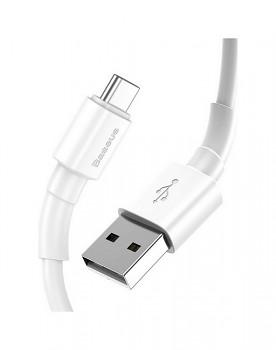 Rychlonabíječka Baseus Mini 24W včetně datového kabelu USB-C bílá 2