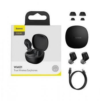 Bezdrátová sluchátka Baseus Encok True Wireless WM01 2