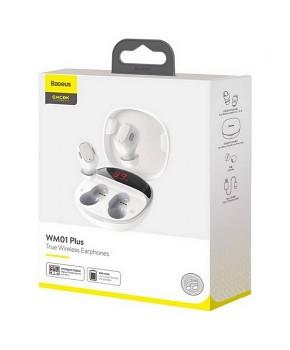 Bezdrátová sluchátka Baseus Encok True Wireless WM01 Plus 2