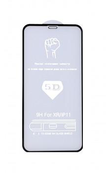 Tvrzené sklo FullGlue na iPhone 11 5D černé