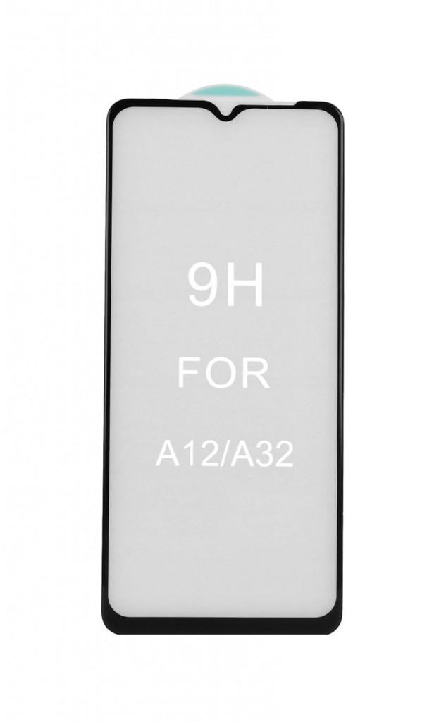 Tvrzené sklo FullGlue na Samsung A12 5D černé