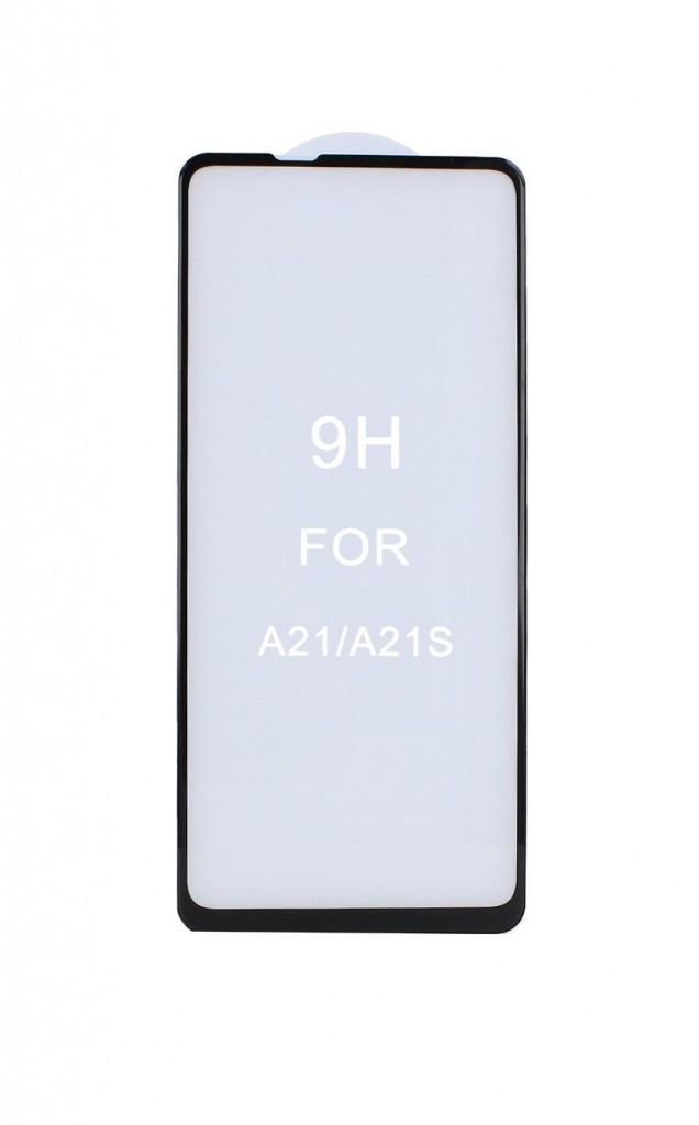 Tvrzené sklo FullGlue na Samsung A21s 5D černé