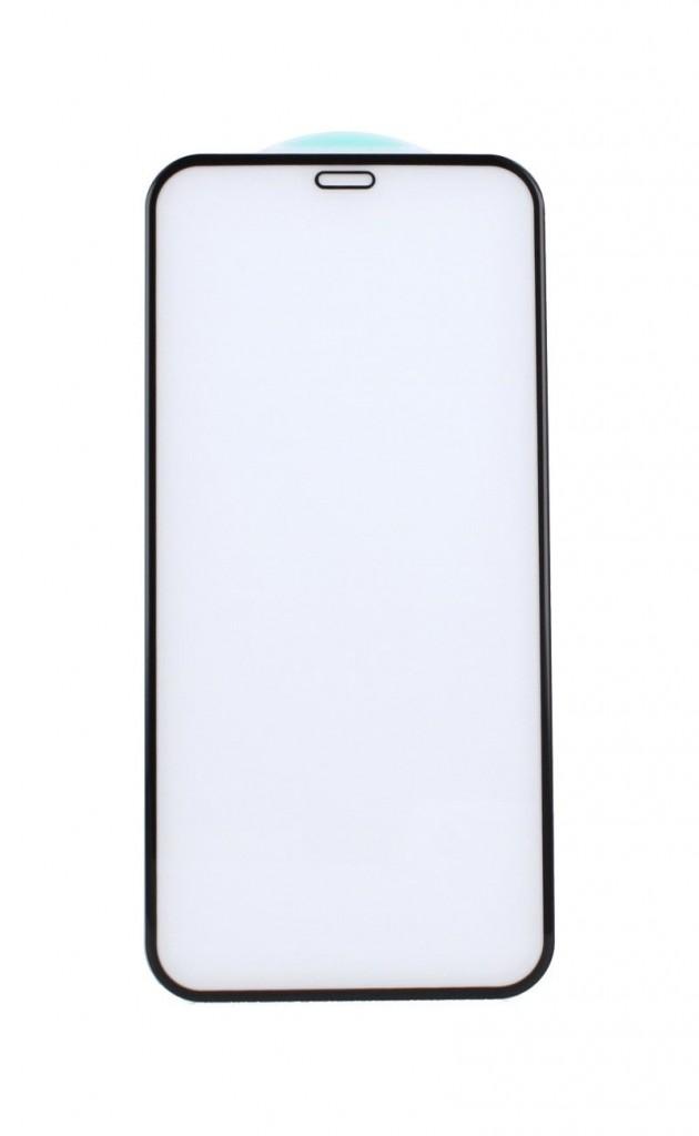 Tvrzené sklo HARD FullGlue na mobil iPhone 12 5D černé (1)