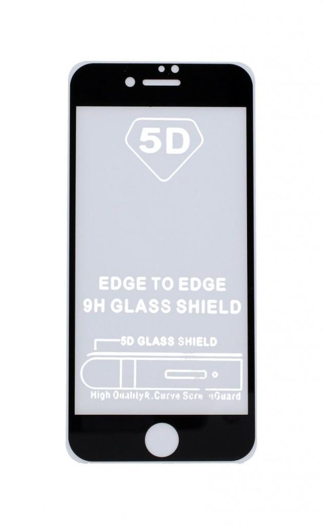 Tvrzené sklo SmartGlass na iPhone SE 2020 Full Cover černé