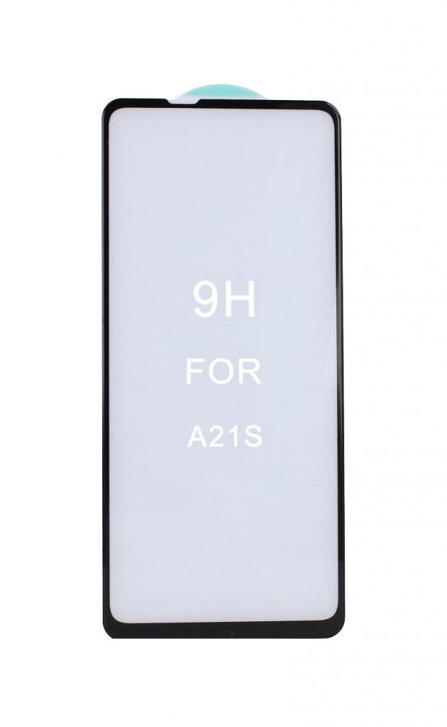 Tvrzené sklo Swissten na Samsung A21s 3D zahnuté černé