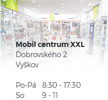 Naše kamenná pobočka Mobil Centrum XXL