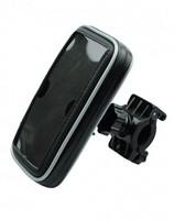 Držák na mobil na kolo černý