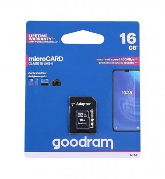 Paměťová karta GOODRAM 16GB Class 10