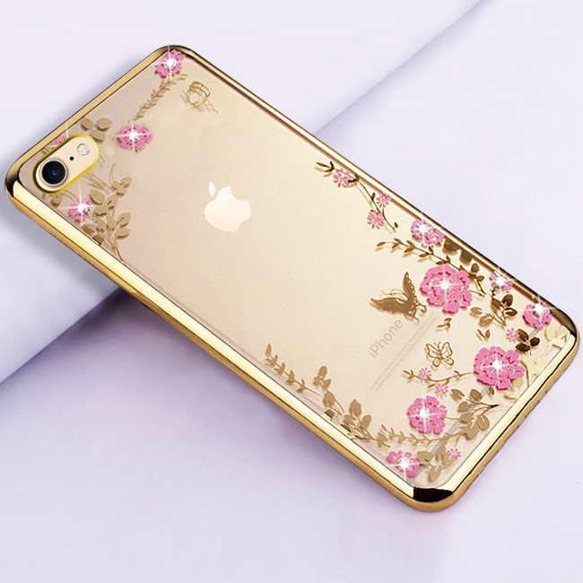 Pouzdro TopQ iPhone 6   6s silikon zlatý (kryt neboli obal na mobil iPhone 6 fcd7f44af31